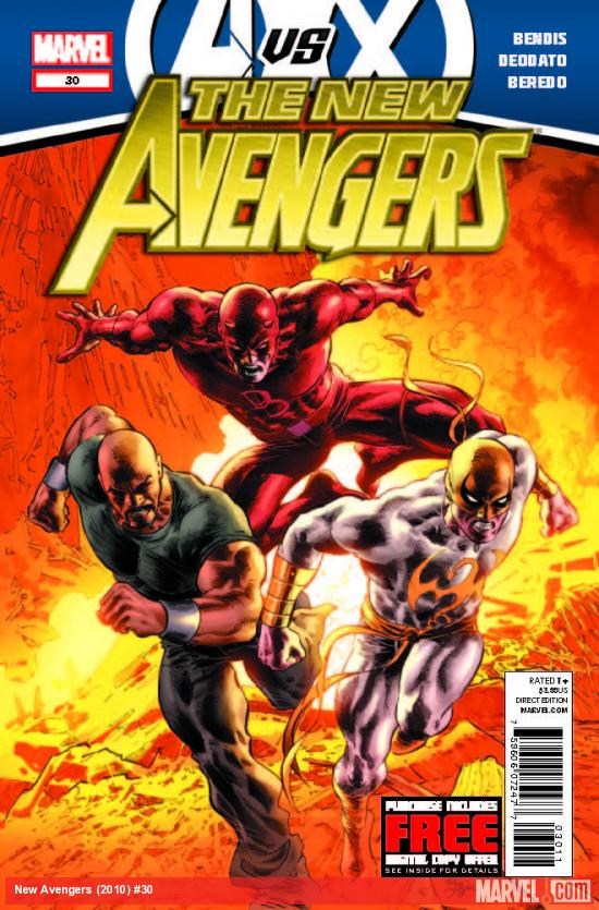 NEW AVENGERS 30 (AVX, WITH DIGITAL CODE)