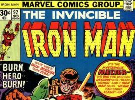 Iron Man (1968) #92 cover