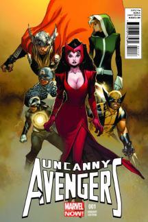 Uncanny Avengers #1  (Copiel Variant)