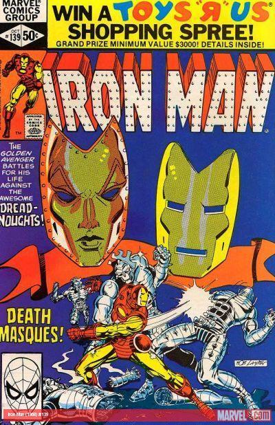 Iron Man #139 cover