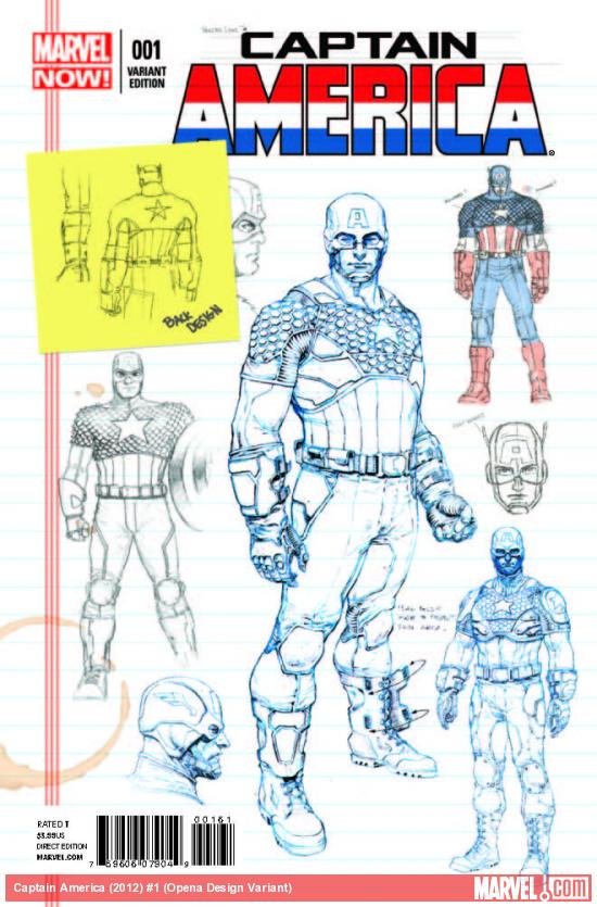 CAPTAIN AMERICA 1 OPENA DESIGN VARIANT