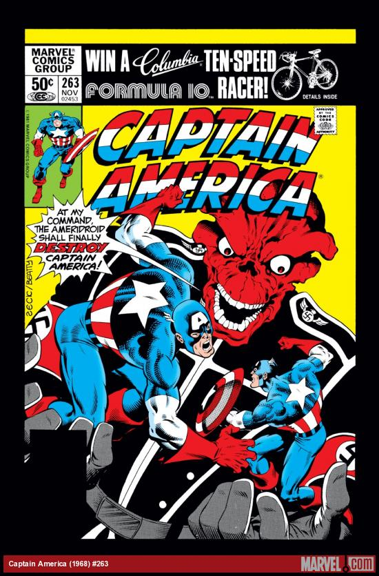 Captain America (1968) #263 Cover