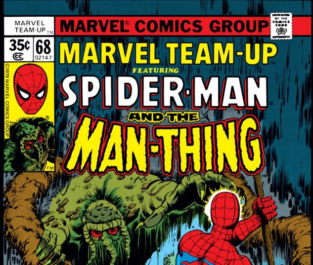 Marvel Team-Up (1972) #68 Cover