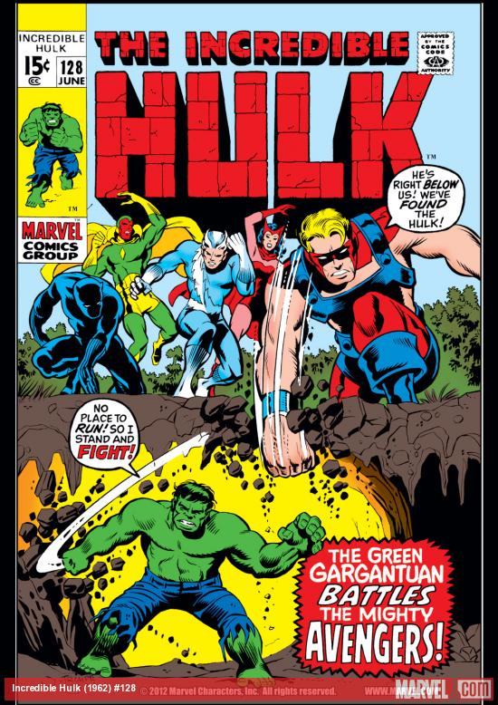Incredible Hulk (1962) #128 Cover