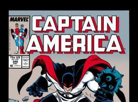 Captain America (1968) #348 Cover