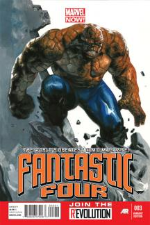 Fantastic Four (2012) #3 (Dell'otto Variant)