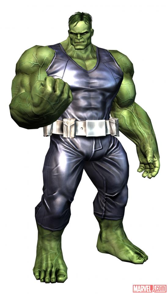 Pantheon Hulk character model from Avengers Initiative