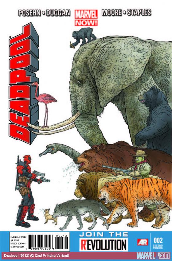 DEADPOOL 2 2ND PRINTING VARIANT (NOW)