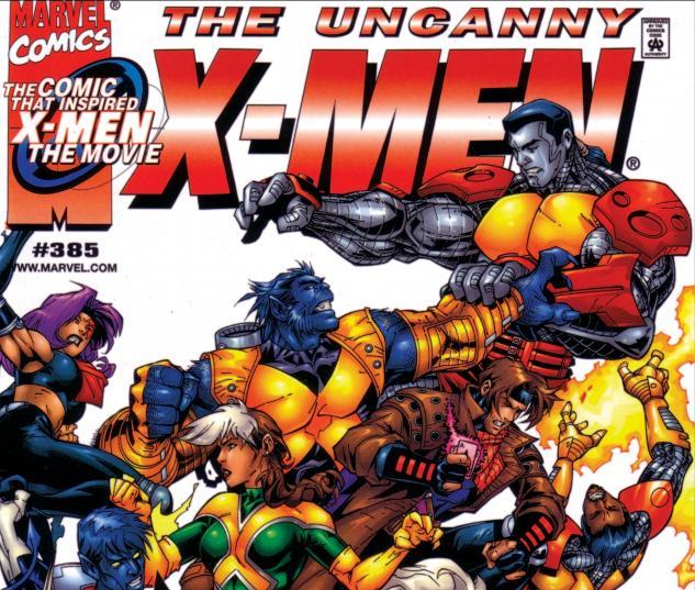 Uncanny X-Men (1963) #385 Cover