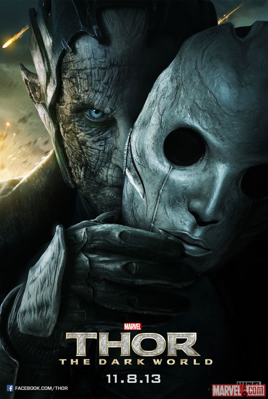 Malekith character poster from Marvel's Thor: The Dark World