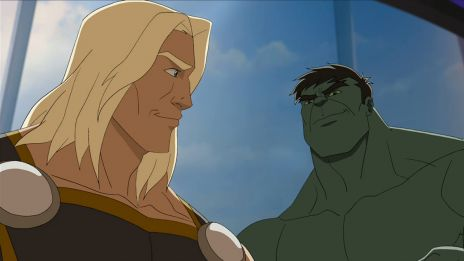 Thor and Hulk get up to no good in Marvel's Avengers Assemble - Savages