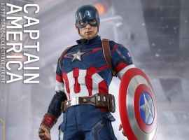 Hot Toys Marvel's Avengers: Age of Ultron 1/6th scale Captain America Collectible Figure