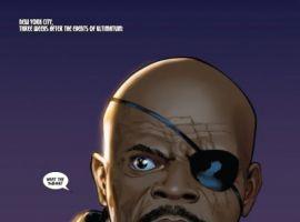 ULTIMATE COMICS AVENGERS #1, page 1