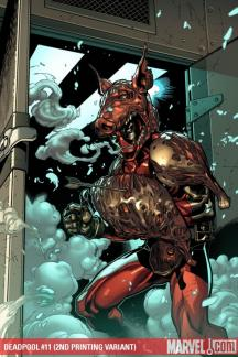 Deadpool (2008) #11 (2ND PRINTING VARIANT)