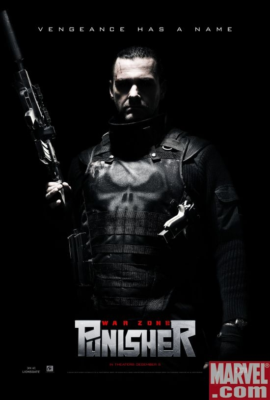 Punisher: War Zone poster 1
