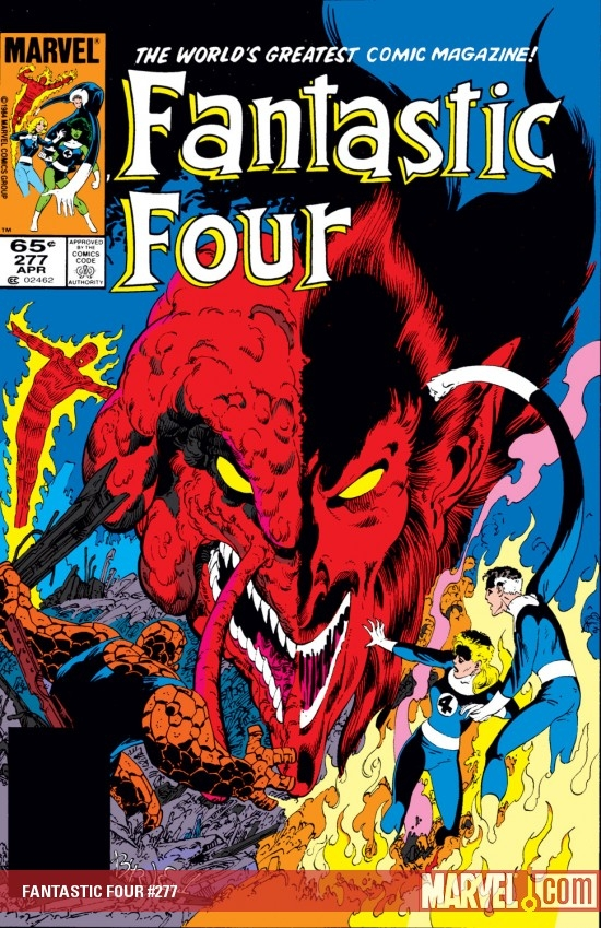 FANTASTIC FOUR #277
