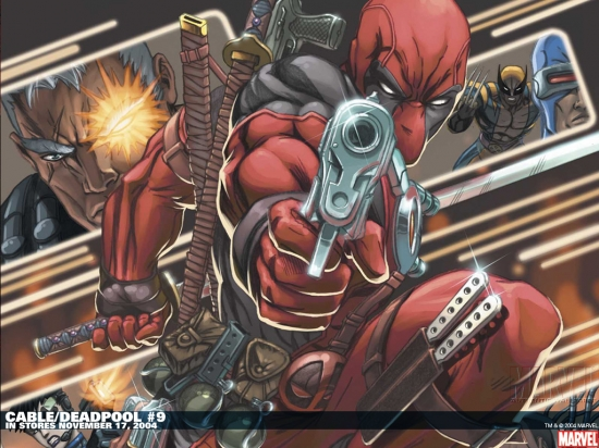 Cable & Deadpool (2004) #9 Wallpaper