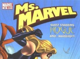 MS. MARVEL #10 (2006) cover