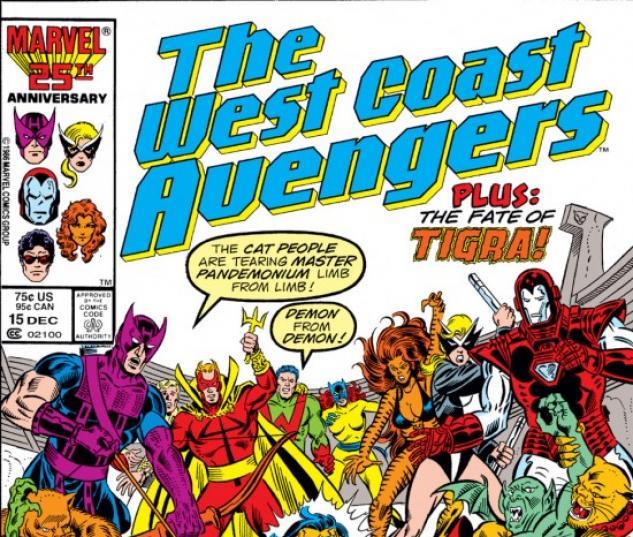 West Coast Avengers #15
