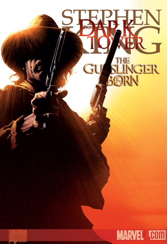 DARK TOWER: THE GUNSLINGER BORN (2008) #1 (JOE QUESADA VARIANT) COVER