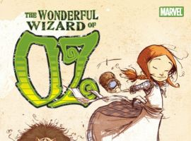 OZ: THE WONDERFUL WIZARD OF OZ  cover by Skottie Young