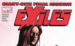 EXILES #100 cover by Tom Grummett