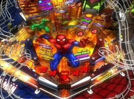Marvel Pinball Spider-Man Table Screenshot