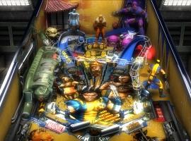 Marvel Pinball Wolverine Table Screenshot