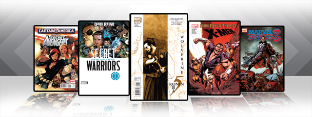 Marvel iPad/iPod App: Latest Titles 3/30/11