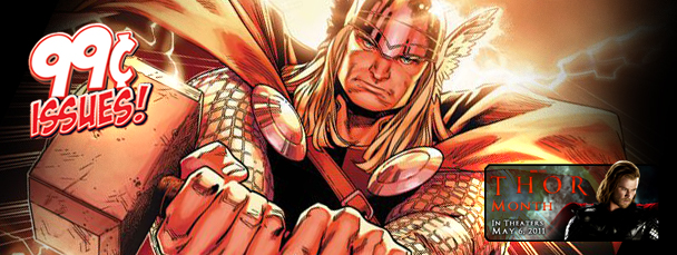 Marvel App: Thor Week