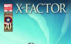 X-Factor (1986) #222, I Am Captain America Variant