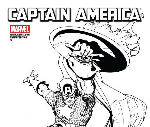 Captain America (2011) #3, Architect Sketch Variant