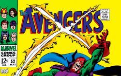 Avengers (1963) #52 cover