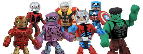 New Marvel Minimates featuring The Avengers