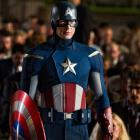 Chris Evans stars as Captain America in Marvel's The Avengers