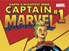 Earth's Mightiest Hero – CAPTAIN MARVEL