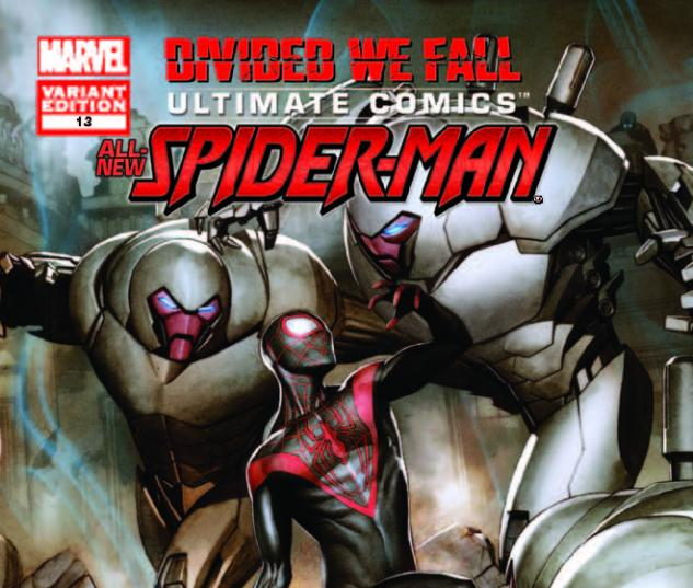 ULTIMATE COMICS SPIDER-MAN 13 GRANOV VARIANT (1 FOR 30, WITH DIGITAL CODE)