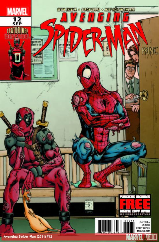 AVENGING SPIDER-MAN 12 (WITH DIGITAL CODE)