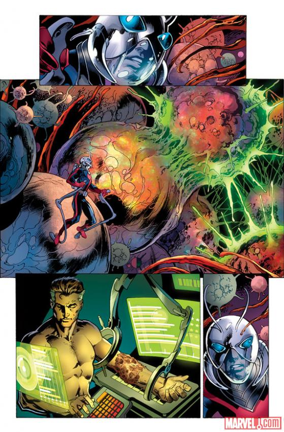 Fantastic Four (2012) #2 preview art by Mark Bagley