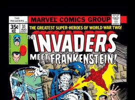 Invaders (1975) #31 Cover