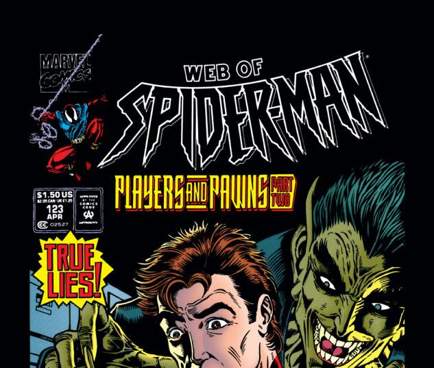 Web of Spider-Man (1985) #123 Cover