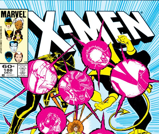 Uncanny X-Men (1963) #188 Cover