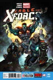 Cable and X-Force #3  (2nd Printing Variant)