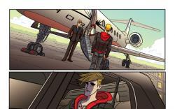 Alpha: Big Time #1 preview art by Nuno Plati