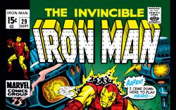 Iron Man (1968) #29 Cover
