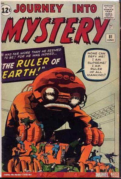 Journey Into Mystery #81 cover