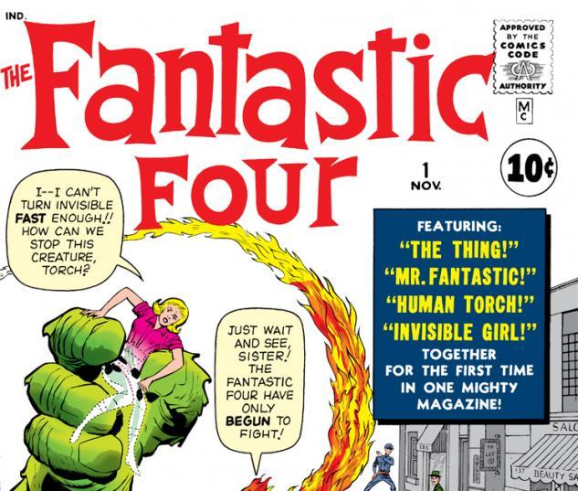 Fantastic Four (1961) #1