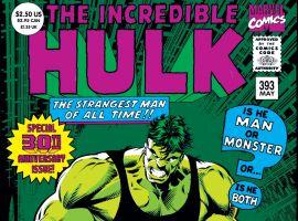 Incredible Hulk (1962) #393 Cover