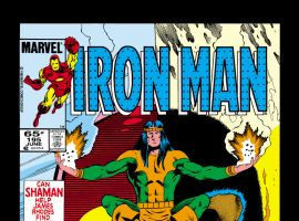 Iron Man (1968) #195 Cover