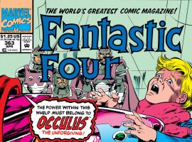 Fantastic Four (1961) #363 Cover